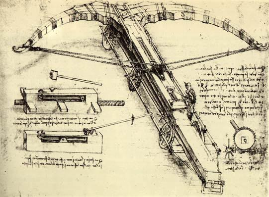DaVinci crossbow