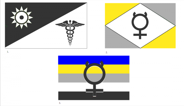 Flags of Mercury