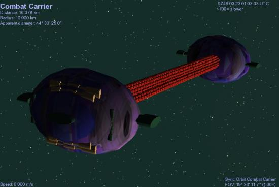 Combat Carrier Terran Federation