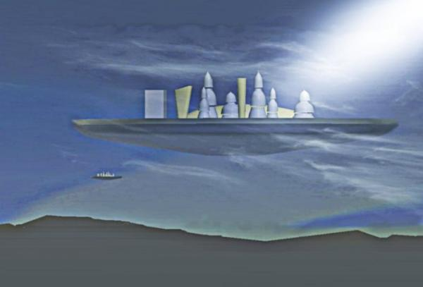 Floating city on Cronus ::